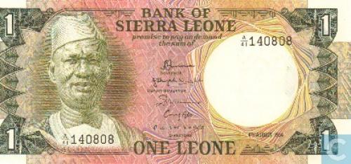Sierra Leone 1 Leone