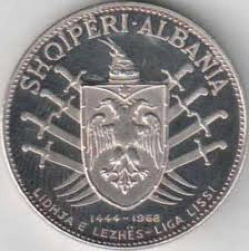 Coins;Coin‑albania‑5‑leke‑1968