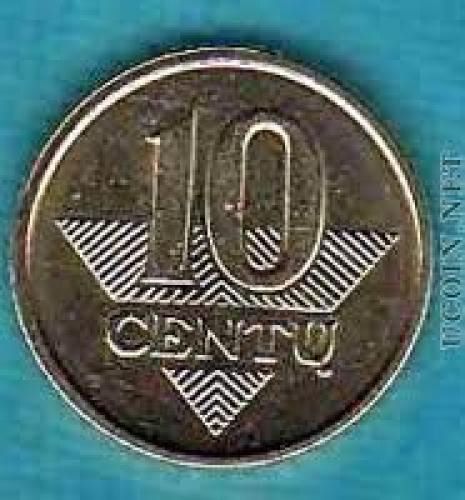 Coins;  Coin  Lithuania 10 centas 2007