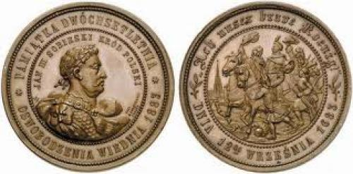 Coins; WORLD COINS. POLAND. Johann III Sobieski, 1629-1674-1696, 200th