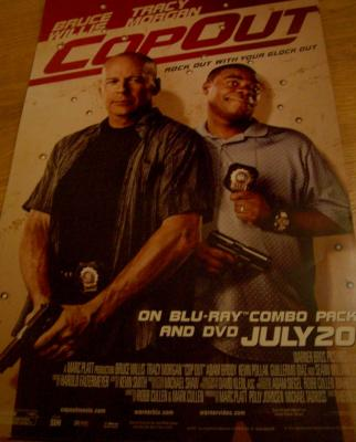 Cop Out movie 2010 promo poster (Tracy Morgan & Bruce Willis)