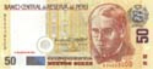 50 Nuevos Soles; Peruan banknotes