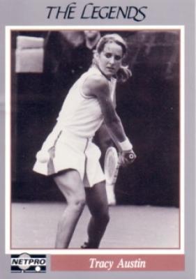 Tracy Austin 1991 Netpro Legends card