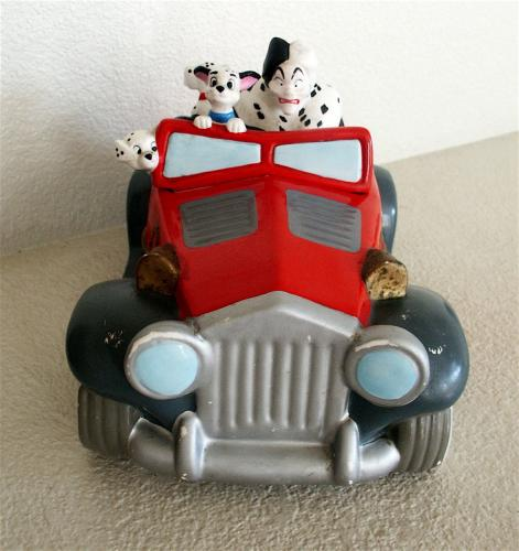Cruella de Vil Cookie Jar