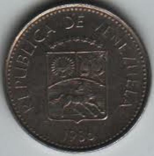Coins;Venezuela 5 Centimo 1986; Front image