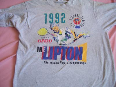1992 Lipton International tennis T-shirt L