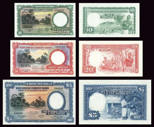 WEST AFRICAN CURRENCY BOARD COPY LOT B (1954 - 1958) - Reproductions