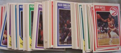 1989-90 Fleer basketball card partial set (Michael Jordan Scottie Pippen)