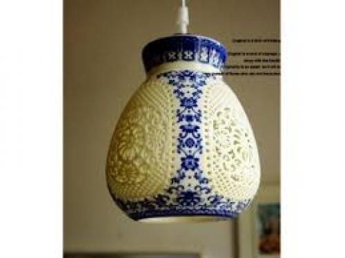 Antiques;  Antique Chinese Lamp