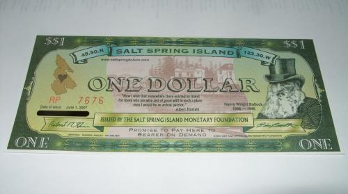 Salt Spring Island 1 $ 2001