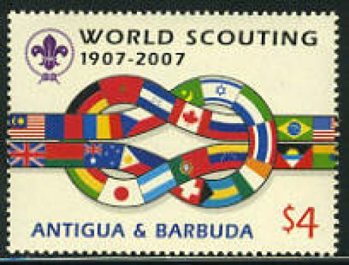 Scouting centenary 1v