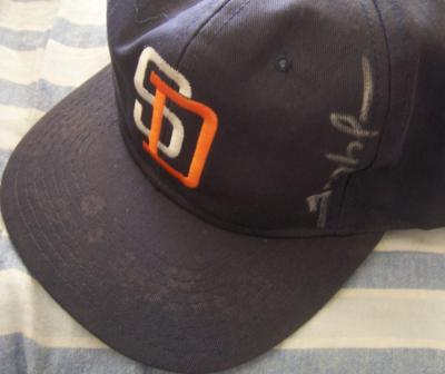 Trevor Hoffman autographed San Diego Padres cap or hat