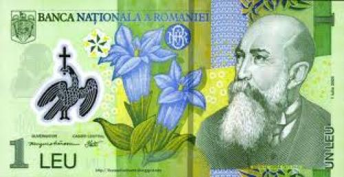 Republic of ROMANIA 1 lei -; Year: 2005 Front image