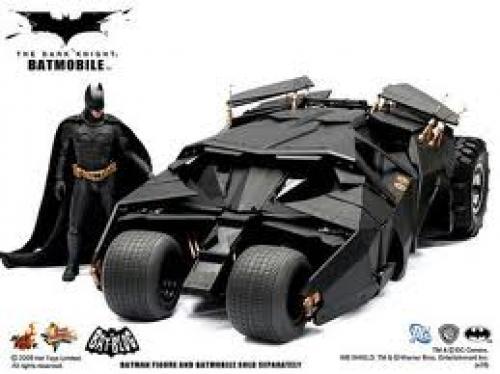 Tumbler Batmobile Toy;  Batman Movie