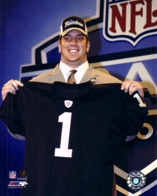 Robert Gallery Raiders 2004 NFL Draft 8x10 photo