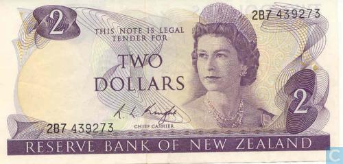 2 New Zealand Dollar