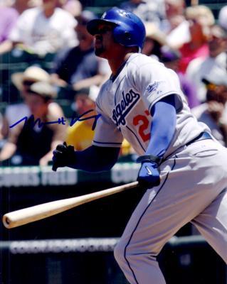 Matt Kemp autographed 8x10 Los Angeles Dodgers photo