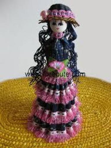 Crafts; Handmade Straw dolls
