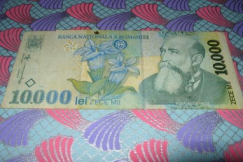 Romania 10000 lei-1998