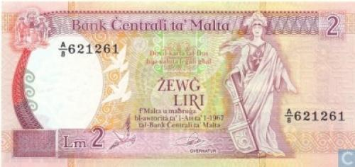 Malta 2 Liri-1989