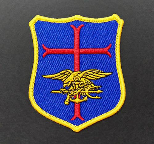 US Navy SEAL Team six DevGru Cross Crusader Shield Insignia Souvenir Patch