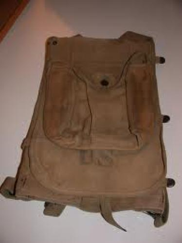 Militaria; WWI USA Backpack [front]