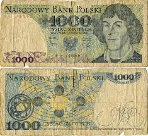 Banknotes; 1000 Polish Zloty 1982 banknote