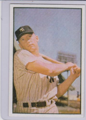 MICKEY MANTLE YANKEES 1989 BOWMAN REPRINT CARD