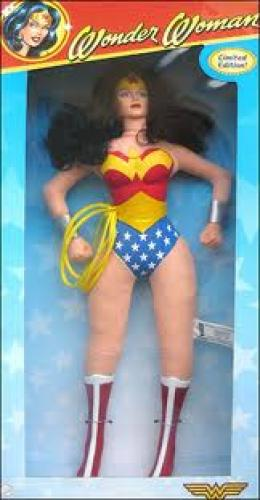 Dolls; Wonder Woman Six Flags Plush Doll - 2005