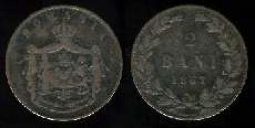 2 bani 1867 (km 2)