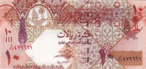 Qatar. Banknote : Qatar, 10 Riyals 2008
