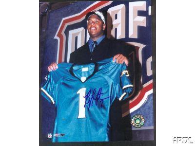 Byron Leftwich autographed Jacksonville Jaguars 2003 NFL Draft 8x10 photo