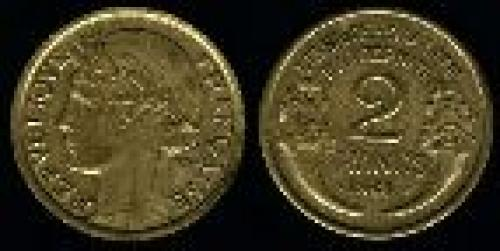 2 francs; Year: 1931-1941; (km 886)