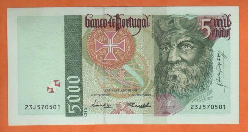 Portugal 5000esc 1998
