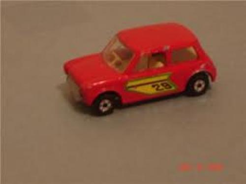 Cars; 1970 Release 'RACING MINI' #29