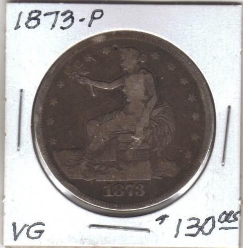 1873 P Trade Dollar