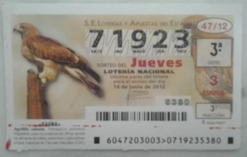 Spanish lottery number