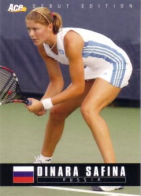 Dinara Safina 2005 Ace Authentic Rookie Card