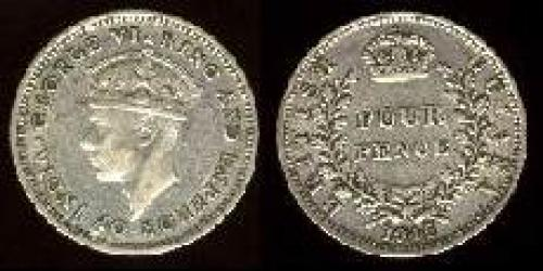 4 pence 1938-1945 (km 30a)