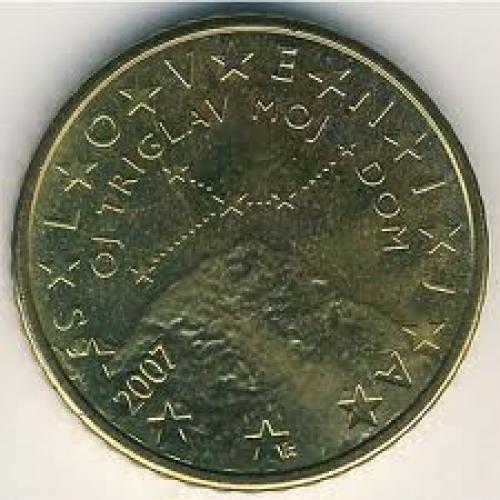 Coins; Slovenia, 50 euro cent, 2007