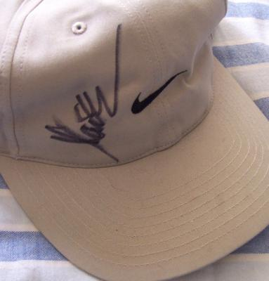 Marcus Allen autographed Nike cap
