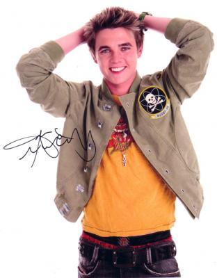 Jesse McCartney autographed 8x10 photo