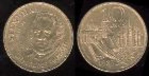 10 francs; Year: 1983;(km 953); Stendhal