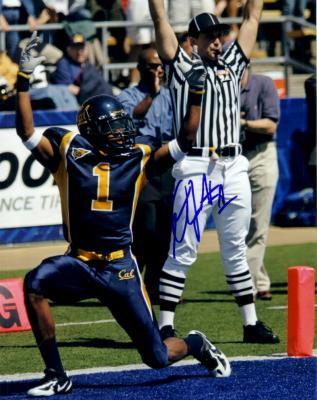 DeSean Jackson autographed Cal Bears 8x10 photo