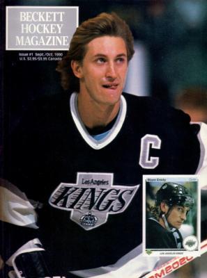 Wayne Gretzky Kings 1990 Beckett Hockey Magazine issue #1