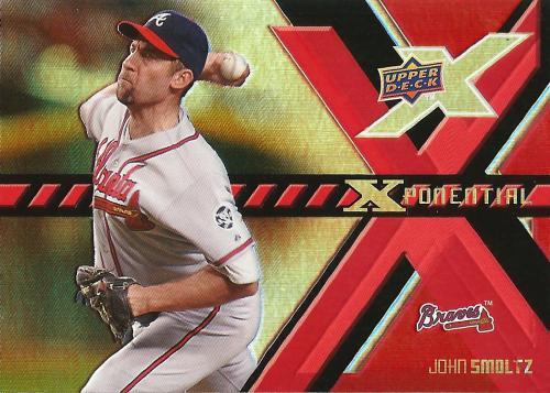 2008 Upper Deck X Xponential #X-JS ~ John Smoltz