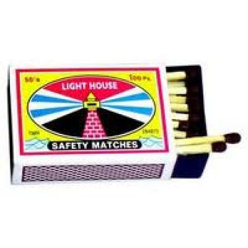 Matchboxes; Lighthouse Design