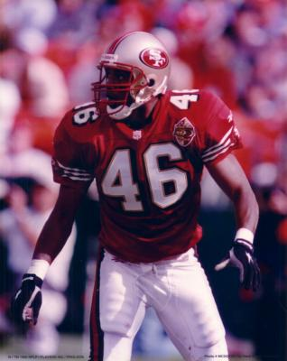Tim McDonald 8x10 49ers photo