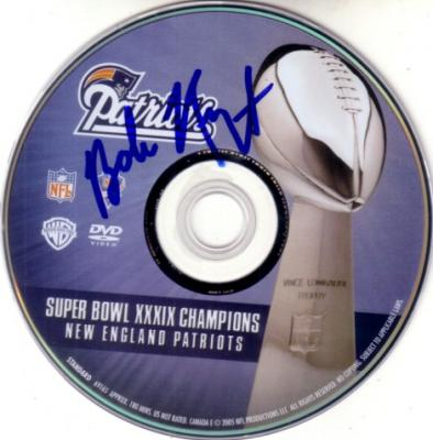 Bob Kraft autographed New England Patriots Super Bowl 39 Champions DVD