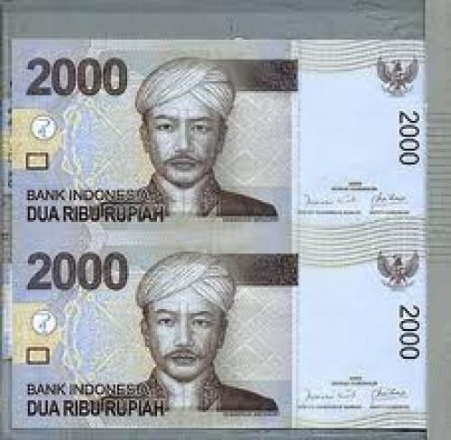 Banknotes; 2000 Rupiah Uncut Banknote of 2009 Series